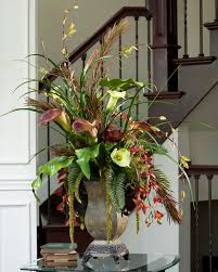 awesome living room floral arrangements pictures awesome design