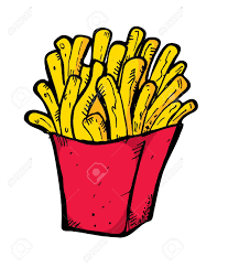 mcdonalds french fries coloring pages contegri com