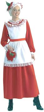 mrs santa claus costume forum novelties women s mrs claus christmas costume