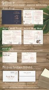 destination wedding invitations destination wedding invitation passport invitation tropical