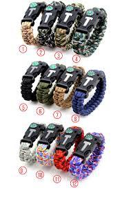 survival paracord bracelet kit images Survival paracord bracelets for outdoor adventure first aid jpg