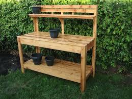 garden work bench gardening ideas