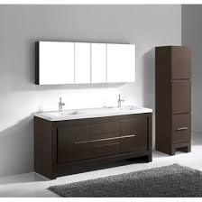 Bathroom Vanity 72 Double Sink by Vicenza Walnut 72