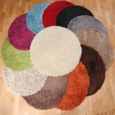 Modern Circular Rugs Area Rugs Shag Rug Orange Rug White Shag Rug Grey