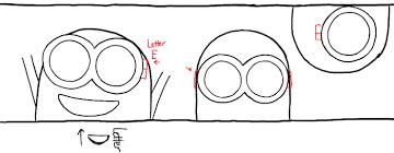 draw bob kevin stuart minions movie simple