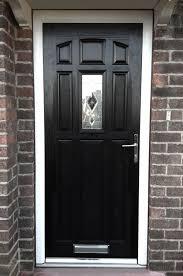 Pvc Exterior Doors Black Pvc Doors Home Decorating Ideas