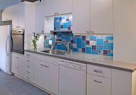 Turquoise Cabinet Kitchen Backsplash Ideas A Splattering Of The Most Popular Colors