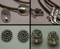 Parts For Jewelry Making - zamac parts for leather cords and laces at wholesale price sun