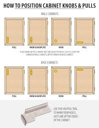 where to place cabinet knobs probrains org