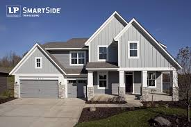 lp smartside lap siding panel siding and trim on a house built by interesting exterior home design with lp smartside siding traditional exterior home design with paint lp smartside siding and gray