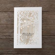 wedding invitations adelaide woodlands scenery rustic laser cut wedding creations
