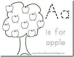 the letter a coloring page 62 best preschool week 2 the letter a images on pinterest