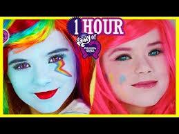 zombie cinderella tutorial zombie my little pony rainbow dash makeup tutorial equestria doll