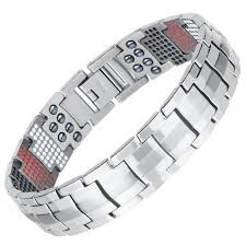 health bracelet titanium images Super healing magnetic titanium men health bracelet jpg
