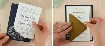 wedding invitation diy how to diy laser wedding invitations with slide in cards cards