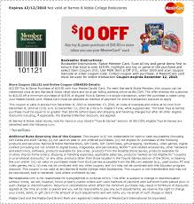Barnes And Noble Mastercard Barnes And Noble Membership Coupons Ae Coupons