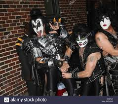 Paul Stanley Halloween Costume Gene Simmons Eric Singer Paul Stanley Kiss U0027the Late Show