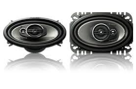 pioneer 4x6 ts a4674r 4 x 6 3 way speaker pioneer electronics usa
