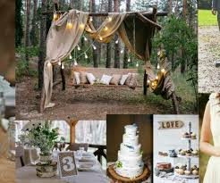 How To Decorate A Backyard Wedding Backyard Weddings Rustic Country Backyard Wedding Ideas