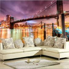 online get cheap wall murals city aliexpress com alibaba group free shipping modern city landscape living room tv background wall mural non woven wallpaper city
