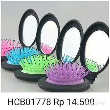 Cermin Rp rp 14 500 code hcb01778 sisir rambut cermin lipat portable