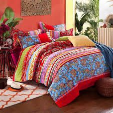 Bed In A Bag Duvet Cover Sets by Bedroom Awesome Bohemian Duvet Covers For Excellent Decorative