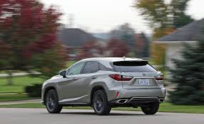 suv lexus 2017 2017 lexus rx in depth model review car and driver