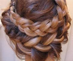 large hair pleats braid fashion girl hair pleats pretty inspiring picture on