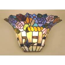 Stained Glass Wall Sconce Wall Sconce Innovative Stained Glass Wall Sconce