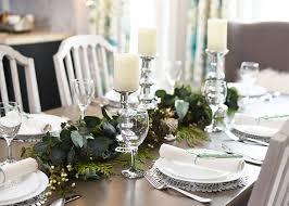 aqua u0026 green farmhouse christmas table decoration ideas the diy