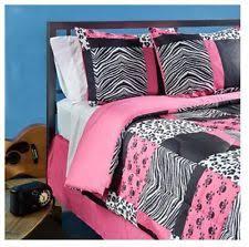 Girls Zebra Bedding by Pink Zebra Bedding Ebay
