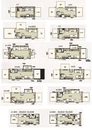 forest river travel trailers floor plans forest river travel