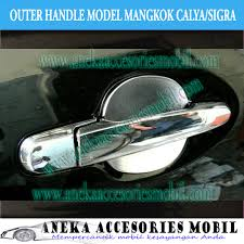 Daihatsu Sigra Trunk Lid Cover Chrome outer door handle daihatsu sigra paket outer dan cover handle