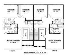 Duplex With Garage Plans Duplex Country Style House Plans 2514 Square Foot Home 1 Story