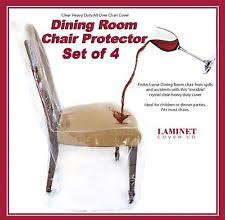 Vinyl Seat Covers For Dining Room Chairs - clear furniture slipcovers ebay