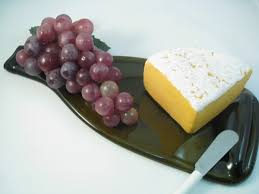 the science of a recycled wine bottle cheese board glass