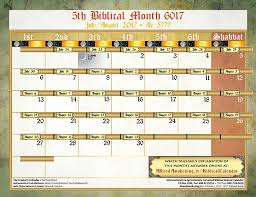 biblical calendar michael rood 5th biblical month july august 2017 http
