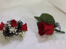 Black And White Corsage Prom Corsage U0026 Boutonnieres Delivery Charleston U0026 South Charleston