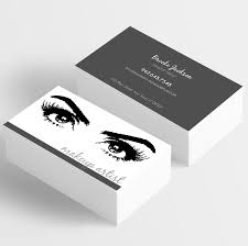 business card templates for makeup artists these are completely