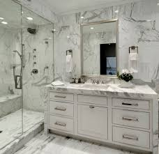 Atlas Custom Cabinets Atlas Flooring For A Modern Bathroom With A Open Shower And