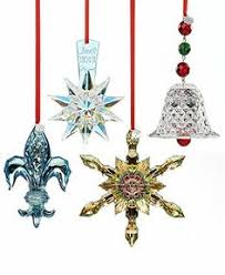 swarovski ornaments set of 3 reindeer and