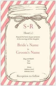 Mason Jar Wedding Programs Does Your Wedding Have A Specific Motif Lovebirds Hearts