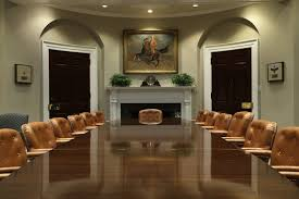 Obama Oval Office Decor The White House West Wing Has A Brand New Look Architectural Digest