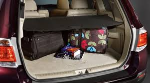 2013 toyota highlander limited accessories amazon com genuine 2011 2013 toyota highlander hybrid cargo