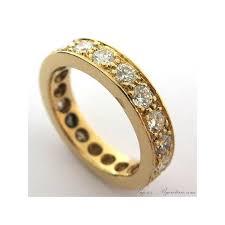 alliance en or en or jaune et diamants 1641