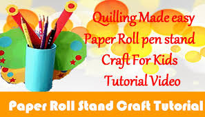 diy craft ideas how to make toilet paper roll pen stand craft for