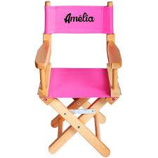 chaise metteur en sc ne b b chaise metteur en scène enfant personnalisée naturel