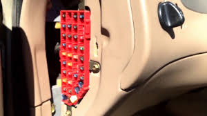ford explorer 1995 2001 fuse box location youtube