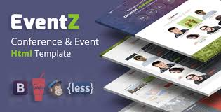 eventz u2013 conference u0026 event html template by codeboxr themeforest
