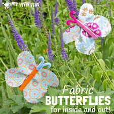 Butterfly Crafts For Kids To Make - fabric clothespin butterfly craft kids craft room